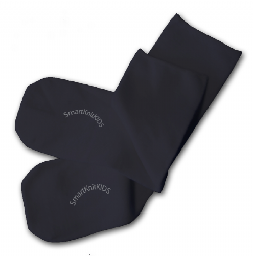 Absolutely Seamless Socks - SmartKnitKIDS ultimate comfort sock: Black